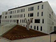 Novostavba II. interní kliniky – gastroenterologie a geriatrie Fakultní nemocnice Olomouc.