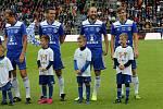 fotbal zápas století Sigma - repre ČRPetr Mrázek, Darko Šuškavčevič, Roman Hubník, Aleš Škerle