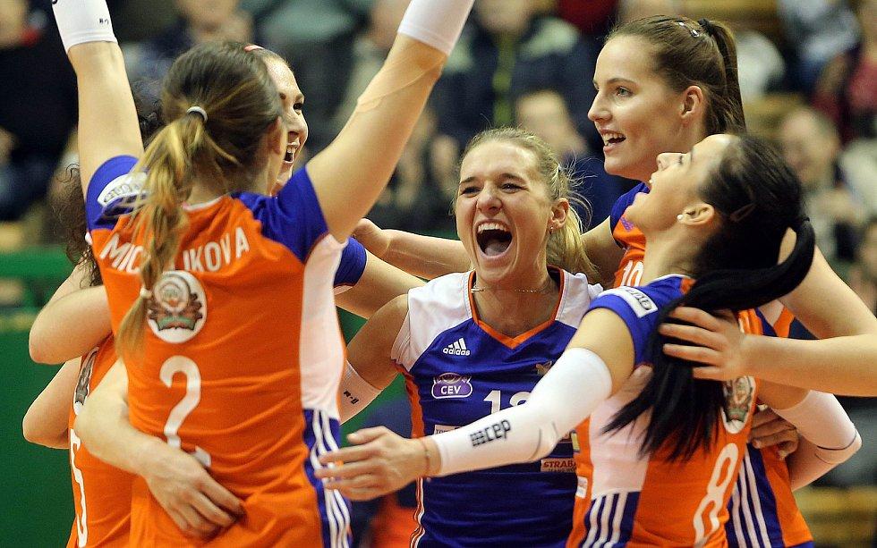 Osmifinále Poháru CEV VK UP Olomouc - Asterix Avo Beveren
