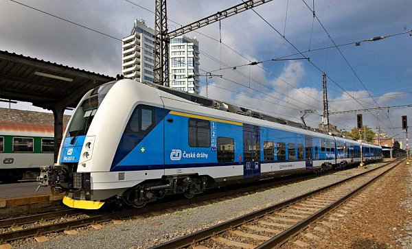 Nový vlak ČD RegioPanter vOlomouci
