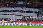 Fanoušci Sigmy a jejich protest