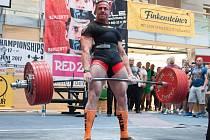 Olomoucký silový trojbojař zvítězil na mistrovství Evropy v rakouském Telfsu
