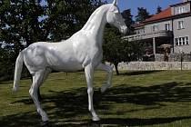 Výstava s názvem Sochy Šmeralovy vily se otevřela v pátek 9. září odpoledne a potrvá přesně jeden rok.