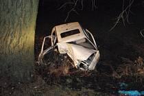 Následky tragické nehody v Topolanech