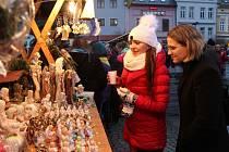 Poslední adventní neděle na náměstí ve Šternberku