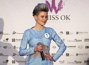 Aneta Sokelová. Semifinále 6.ročníku soutěže Miss OK ve Velké Bystřici.