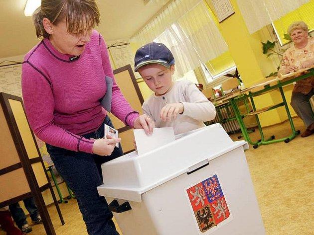 Volby 2010. Ilustrační foto