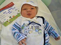 Richard Petr – 4.2.2014, 3690g, 51cm, Olomouc – Chomoutov, narozen v Olomouci
