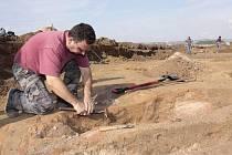 Cyklostezka z Uničova na Medlov odkryla archeologické cennosti