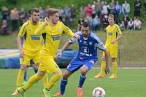 Varnsdorf (ve žlutém) proti Sigmě