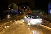 Bouřky a přívalové deště v Olomouckém kraji - 7. 6. 2020 - Břevenec