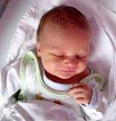 Pavel Šuba, Olomouc, narozen 12. dubna v Olomouci, míra 50 cm, váha 3370 g
