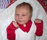 Kateřina Karasová, Medlov, narozena 24. října ve Šternberku, míra 49 cm, váha 3240 g