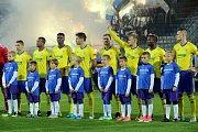 Zápas Evropské ligy FC FASTAV Zlín - FC Kodaň na Andrově stadionu v Olomouci