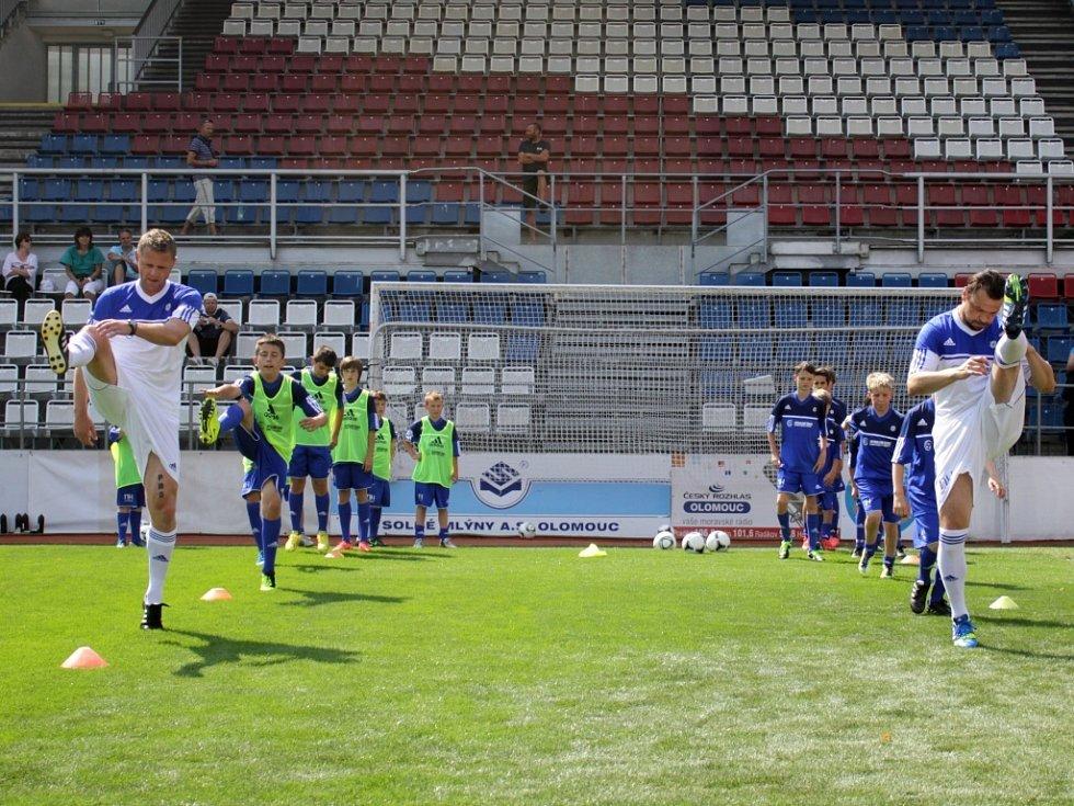 Fotbalová škola Romana a Michala Hubníkových v Olomouci
