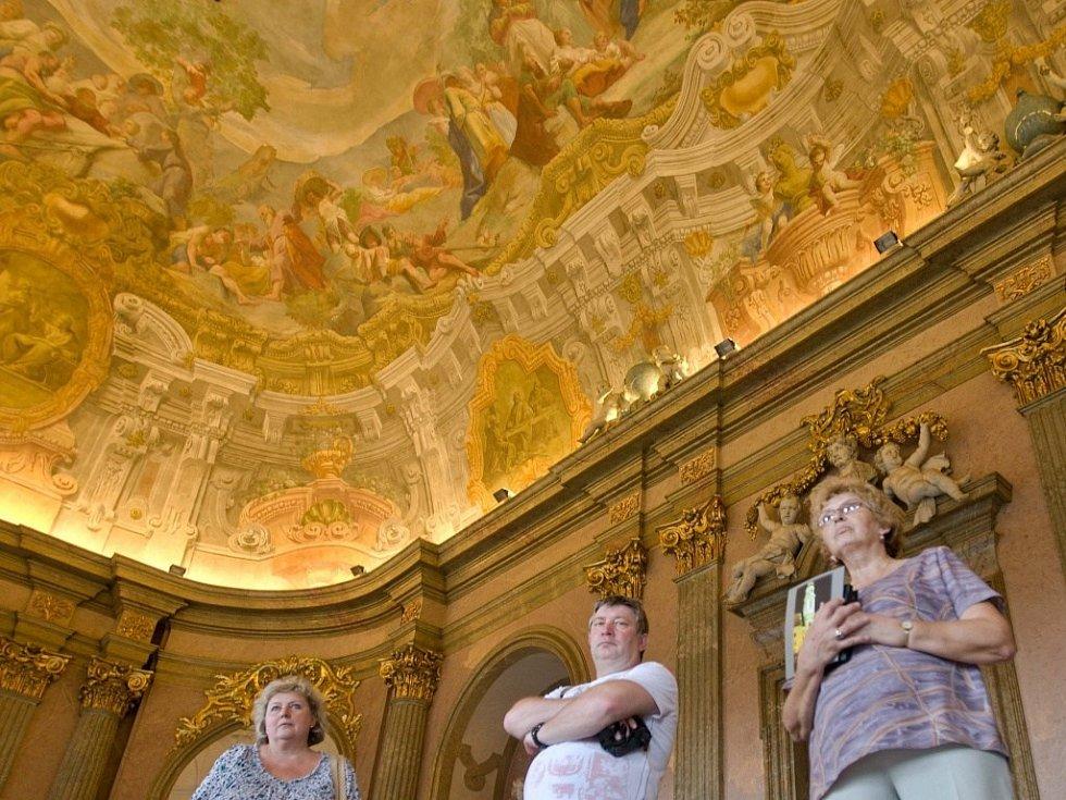 Prohlídka Klášterního Hradiska v Olomouci