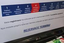 V pátek 15. ledna 2021 v 8 hodin se mohli senioři začít registrovat na očkování proto koronaviru. Ilustrační foto