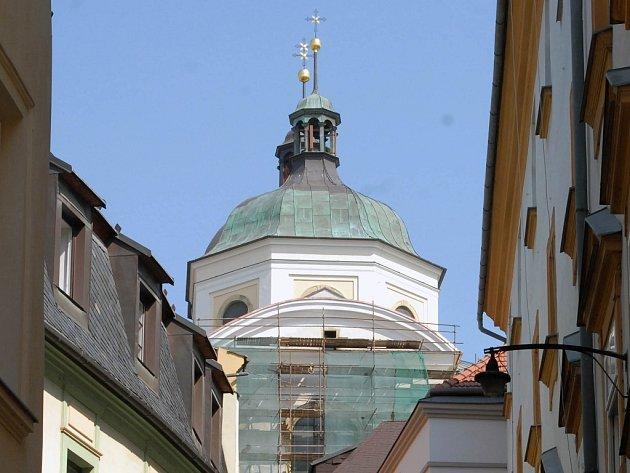 Chrám sv. Michala bude mít novou fasádu.