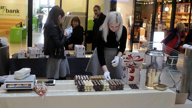 Čokoládový festival v olomoucké Galerii Šantovka