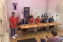 Tisková konference BK Redstone Olomoucko ke startu Kooperativa NBL.