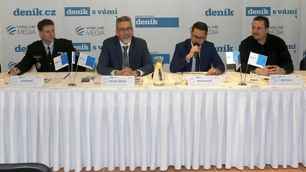 Debata Deníku s olomouckým primátorem Miroslavem Žbánkem