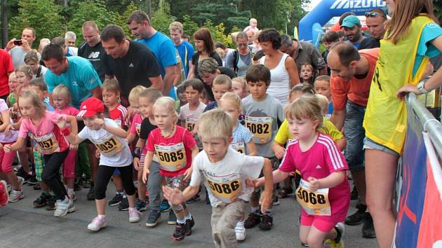 Olomoucký závod běžeckého seriálu RunTour