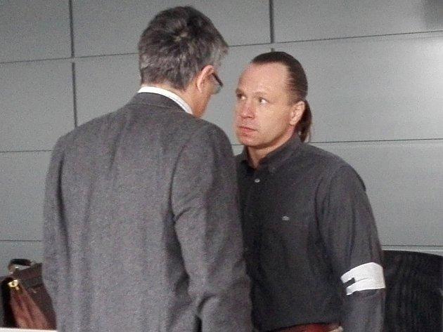 Obžalovaný Petr Herok během jednání Krajského soudu v Olomouci
