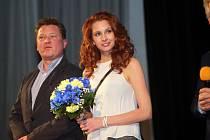 """Úvod předpremiéry filmu """"MILUJI TĚ MODŘE"""" natáčeném v Olomouci v kině Metropol."""