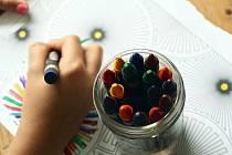 děti tvoření ilustrační