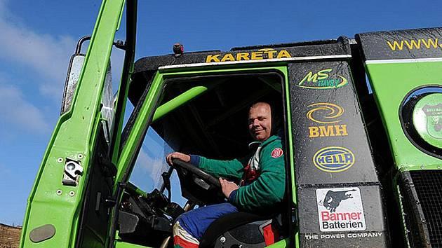 Testování na Dakar - Marek Spáčil