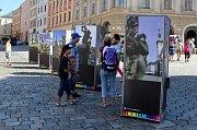 DED v Olomouci - 3D fotografie na Horním náměstí