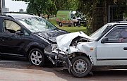 Dopravní nehoda v Drahanovicích na Olomoucku