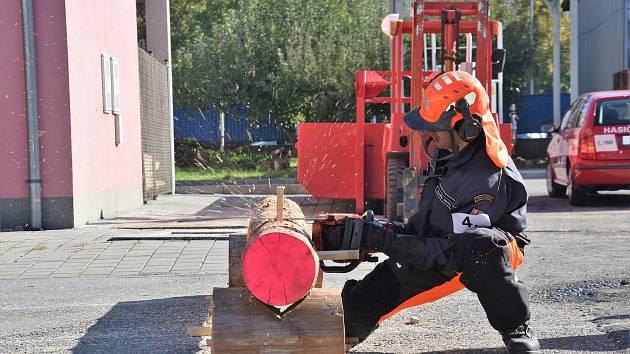 Hanácké pilař v Olomouci - Druhý ročník hasičské soutěže v dovednostech práce s motorovou řetězov