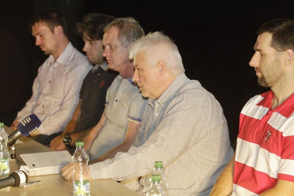 Tiskovka HC Olomouc před startem nové extraligové sezony 2015/16