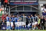 Euro 21 v Olomouci: Švédsko vs. Itálie
