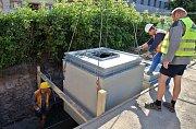 Instalace podzemních kontejnerů na tříděný odpad na třídě Svobody