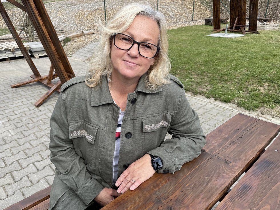 Hospoda u Svatého Huberta v Kozlově, Jitka Hofírková, duben 2021