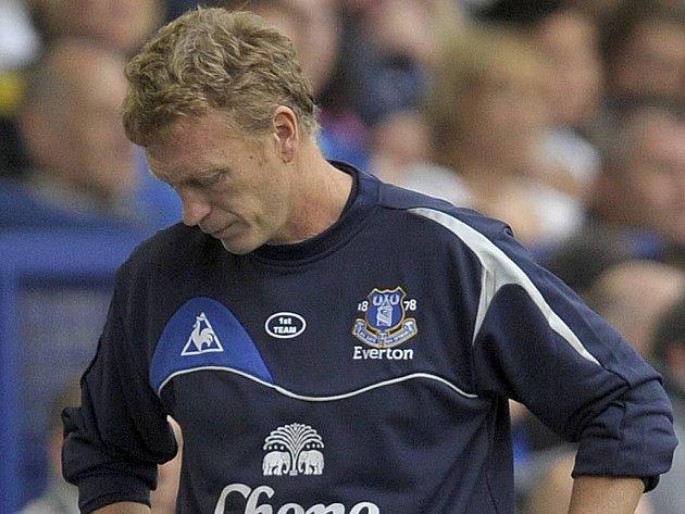 Zklamaný kouč Evertonu David Moyes