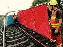 U Štěpánova vypadla z vlaku tříletá dívka. Zraněním na místě podlehla.