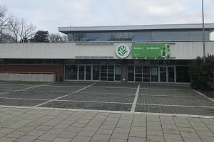 """Výstaviště Flora může posloužit ke zřízení """"velkokapacitního"""" očkovacího centra, 9. ledna 2021"""