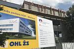 Ve Fakultní nemocnici Olomouc vyrůstá ambulantní pavilon Hemato-onkologické kliniky.