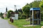 Telefonní budka v Řídeči se 196 obyvateli, 4. 6. 2020
