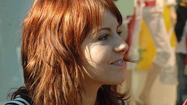 Katarína Knechtová, zpěvačka skupiny Peha.