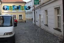 Vodární ulice v centru Olomouce