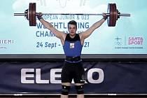 Náměšťský vzpěrač Arnošt Vogel skončil na ME juniorů ve Finsku na sedmém místě.