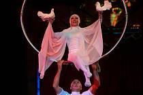 Drezura lvů a tygrů, vzdušná akrobacie, žonglování i klauni pobaví návštěvníky Cirkusu Budapešť, který až do 18. září zakotvil v Olomouci na třídě 17. listopadu vedle sokolovny.