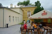 Nové občerstvení na terase u restaurace Fontána