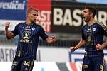 Adam Varadi slaví první gól zápasu