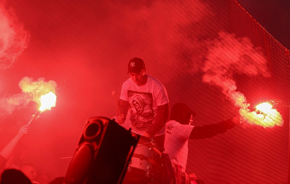 Finále fotbalového poháru MOL Cupu, Baník Ostrava - Slavia Praha 22.května 2019 v Olomouci