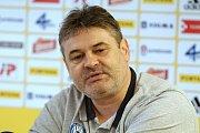 Ladislav Minář, sportovní manažer. Fotbalový klub Sigma Olomouc představil nového sponzora a hodnotil situaci před jarní částí sezony
